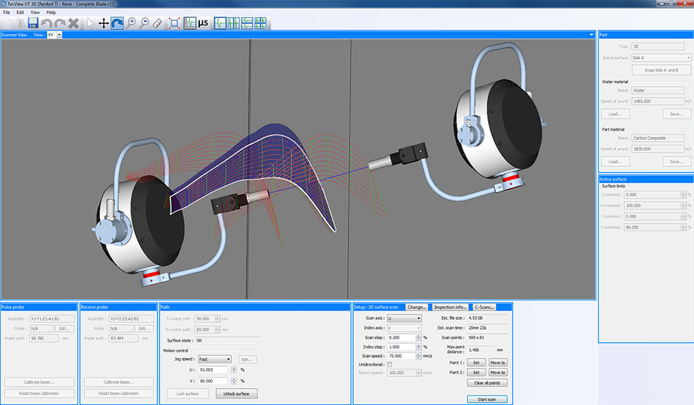 TecView-3D-contour following